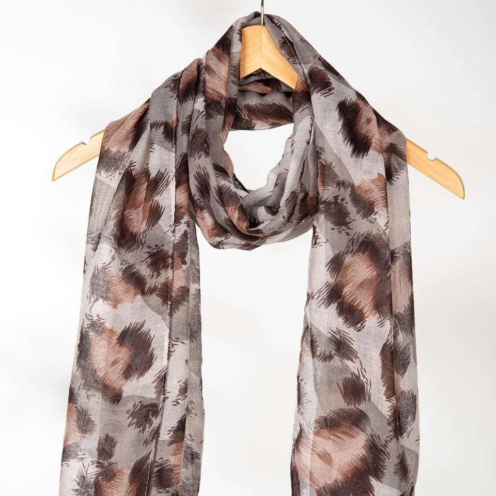 Apparel - Animal Print Scarves - 3 Colors