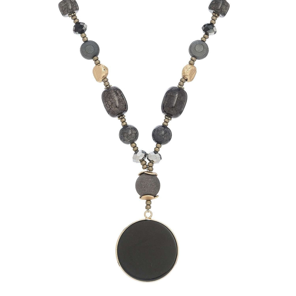 Jewelry - Agate And Onyx Necklaces