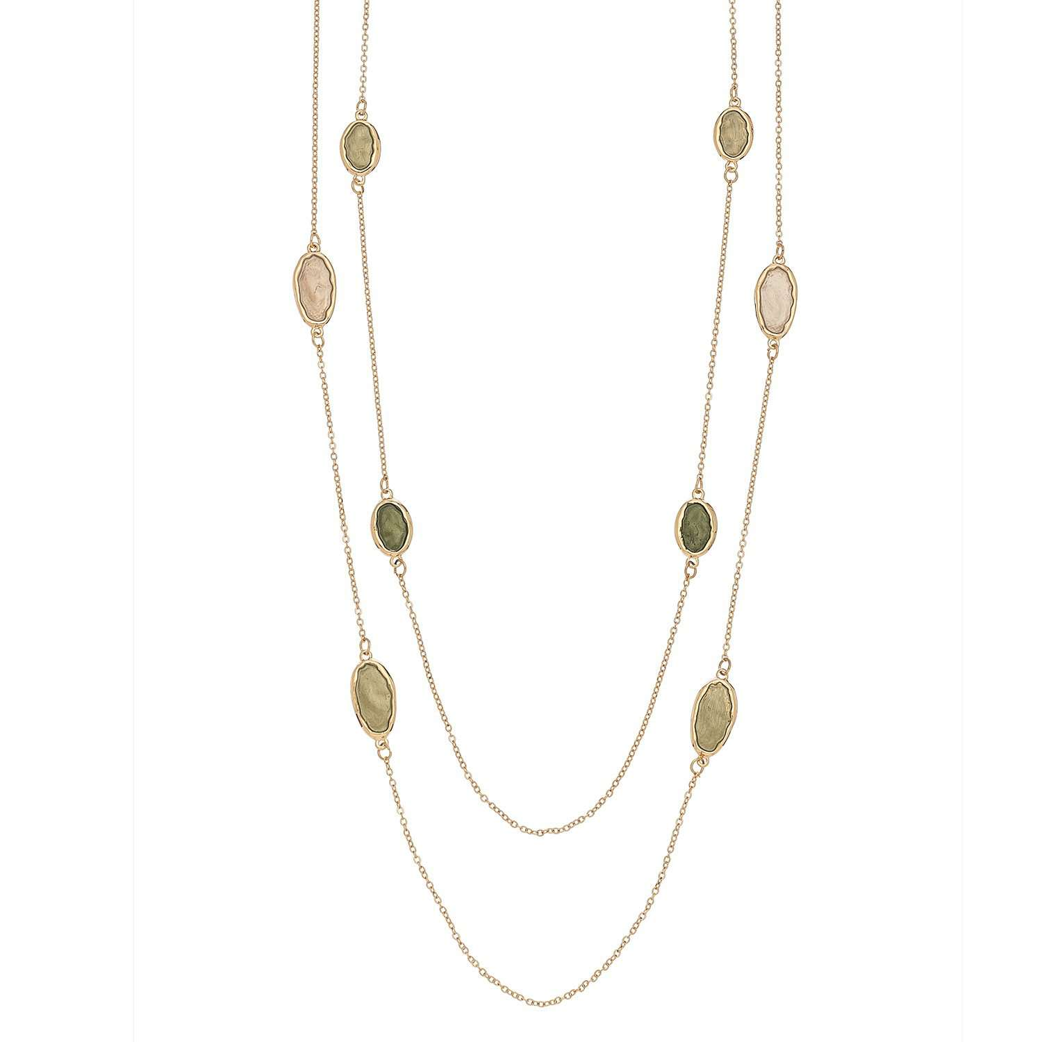 Jewelry - Chive + Cream Necklace