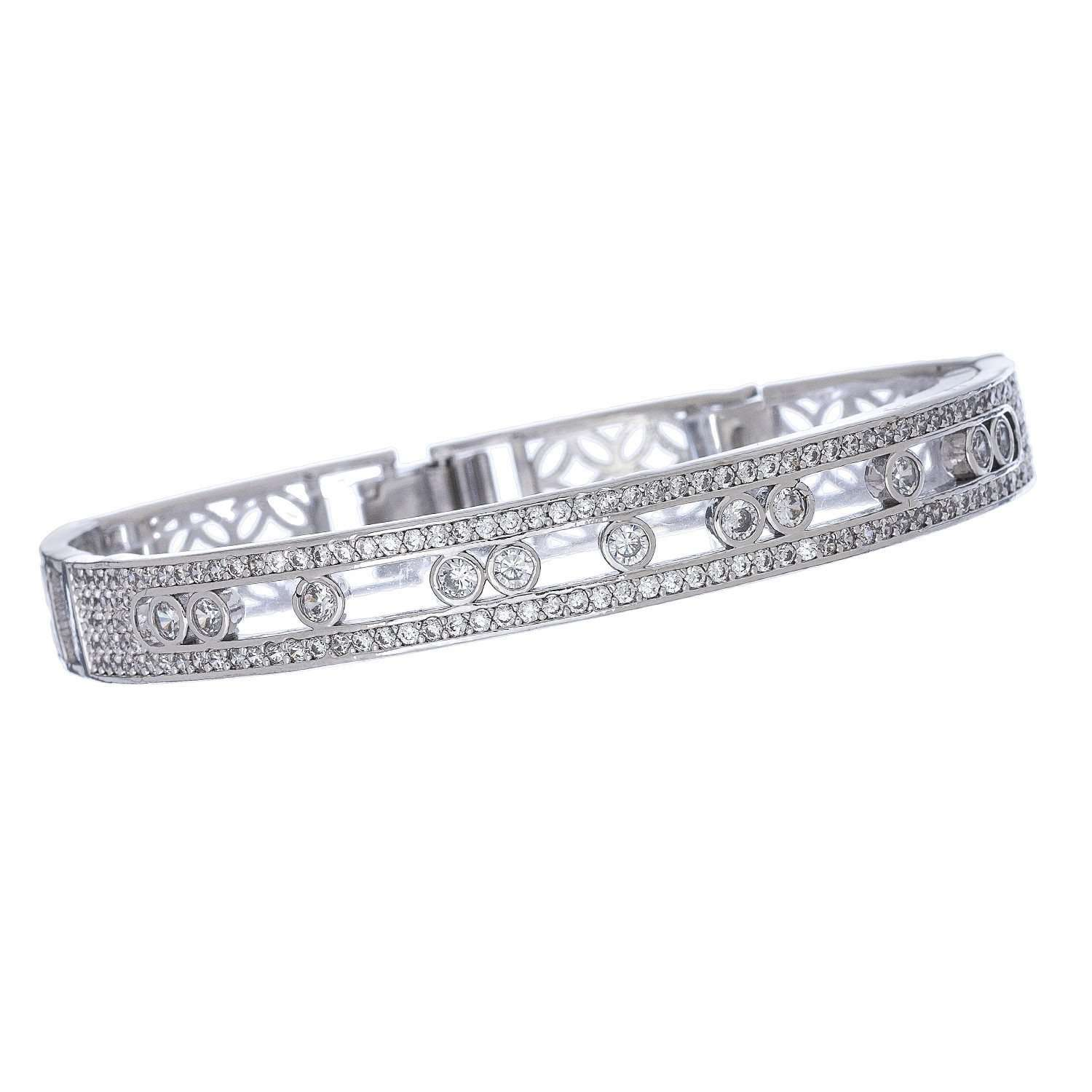 Jewelry - Exquisite Silver Bracelets - 3 Styles