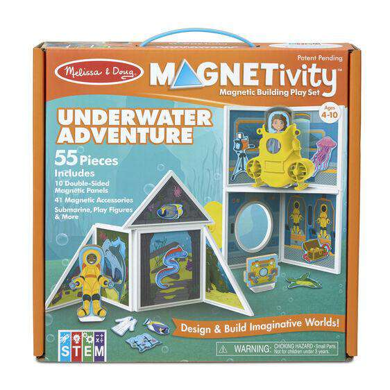 Toys - Magnetivity Magnetic Building Play Sets