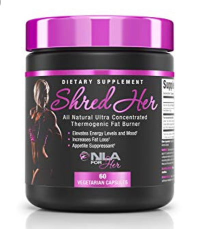 NLA For Her SHRED Her Fat Burner 60 Capsules