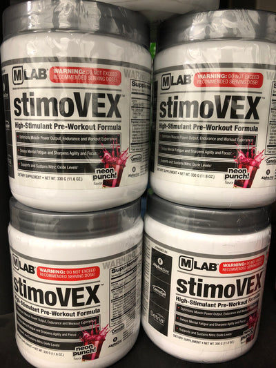 Max Muscle StimoVEX Pre-Workout Neon Punch