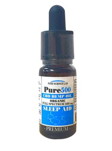 Pure Science Lab Sleep Aid CBD 500 mg Tincture