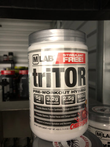 Max Muscle triTOR Pre-Workout Stimulant Free
