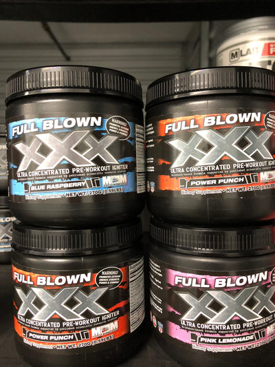 Full Blown XXX Ultra Concentrated Pre-Workout Igniter (0.59 lbs)