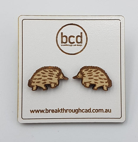 Australian Animal Earrings - Laser Cut and Engraved Wood