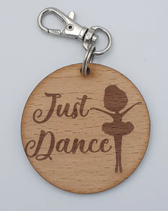 """Just Dance"" Keyring"