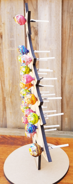 Lollipop Christmas Tree Advent Calendar