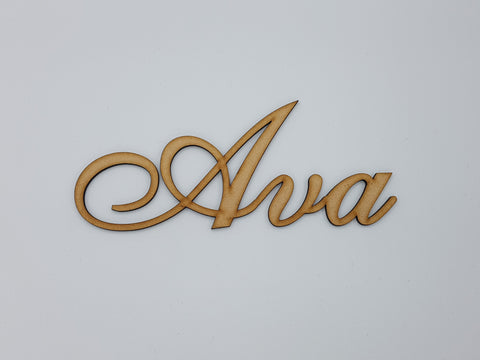 Personalised Wooden Name Sign