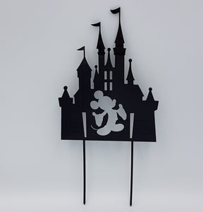 Mickey Castle Cake Topper