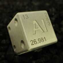 Load image into Gallery viewer, Aluminum Dice