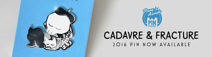 2016 Cadavre Pin now in stock!