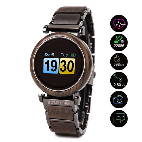 BOBO BIRD digital Smartwatch
