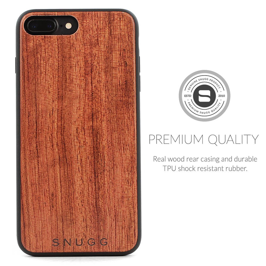 iPhone 8 Plus Genuine Wood