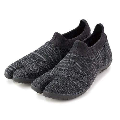 Hitoe - Tabi Style, Minimalism Barefoot Core Training Shoes, Seamless Upper with Rubber Outsole