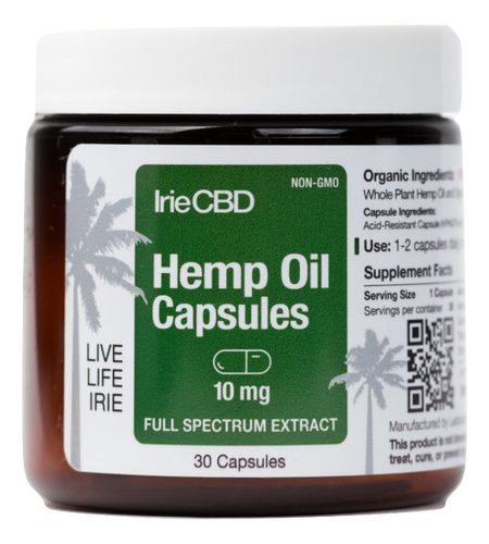 Best IrieCBD Capsules - Green Door CBD
