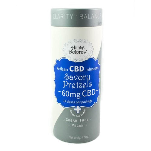 Best CBD Savory Pretzels - Green Door CBD