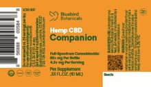 Load image into Gallery viewer, Best Companion CBD Oil - Green Door CBD