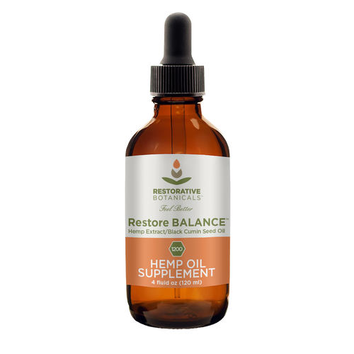 Best Restore BALANCE Hemp Oil Supplement - Green Door CBD