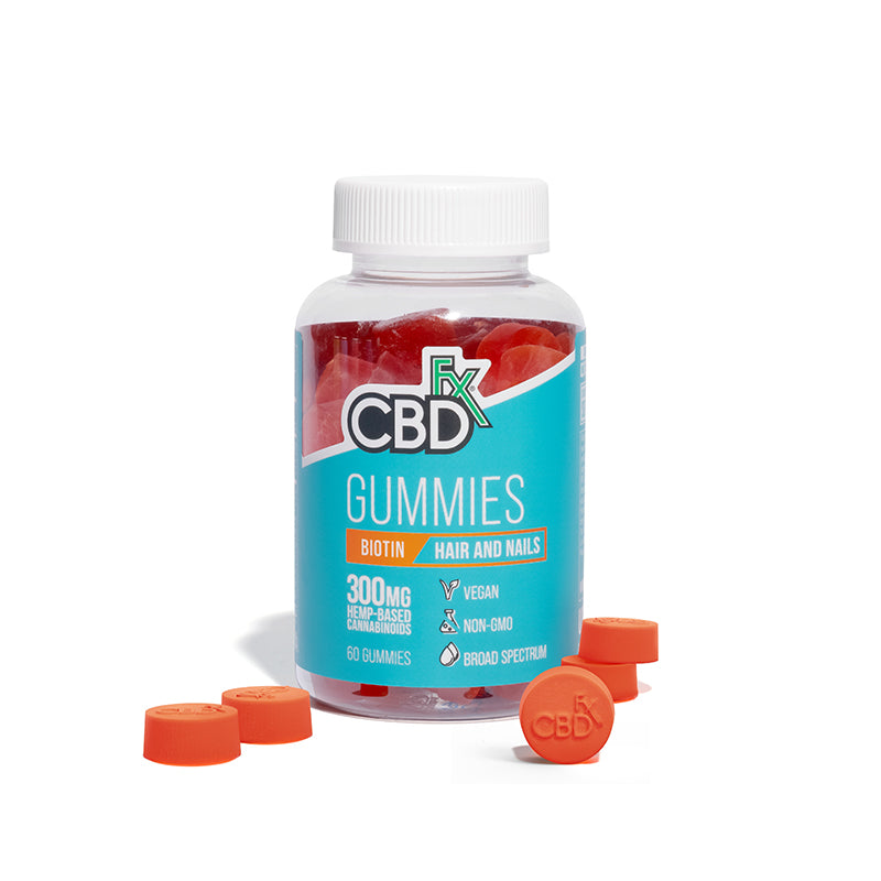 Best CBDfx Gummies with Biotin - Green Door CBD