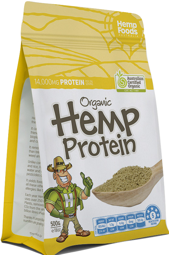 Best Hemp Protein Powder - 16oz - Green Door CBD