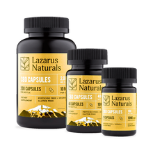 Load image into Gallery viewer, Best Lazarus Naturals CBD Capsules - Green Door CBD