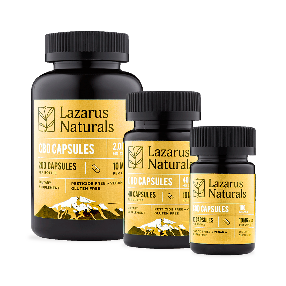 Best Lazarus Naturals CBD Capsules - Green Door CBD