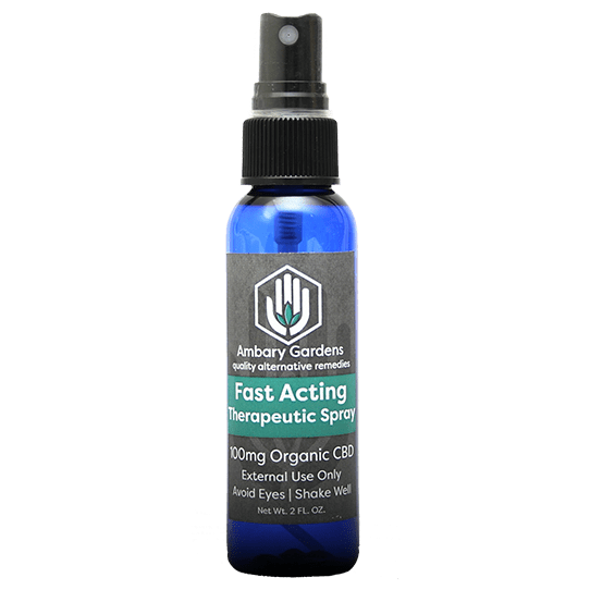 Best Fast Acting Therapeutic Spray - Green Door CBD