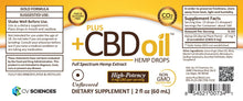 Load image into Gallery viewer, CBD Oil Drops - Gold Formula - Green Door CBD