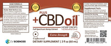 Load image into Gallery viewer, Best Plus CBD Oil Drops - Raw Formula - Green Door CBD