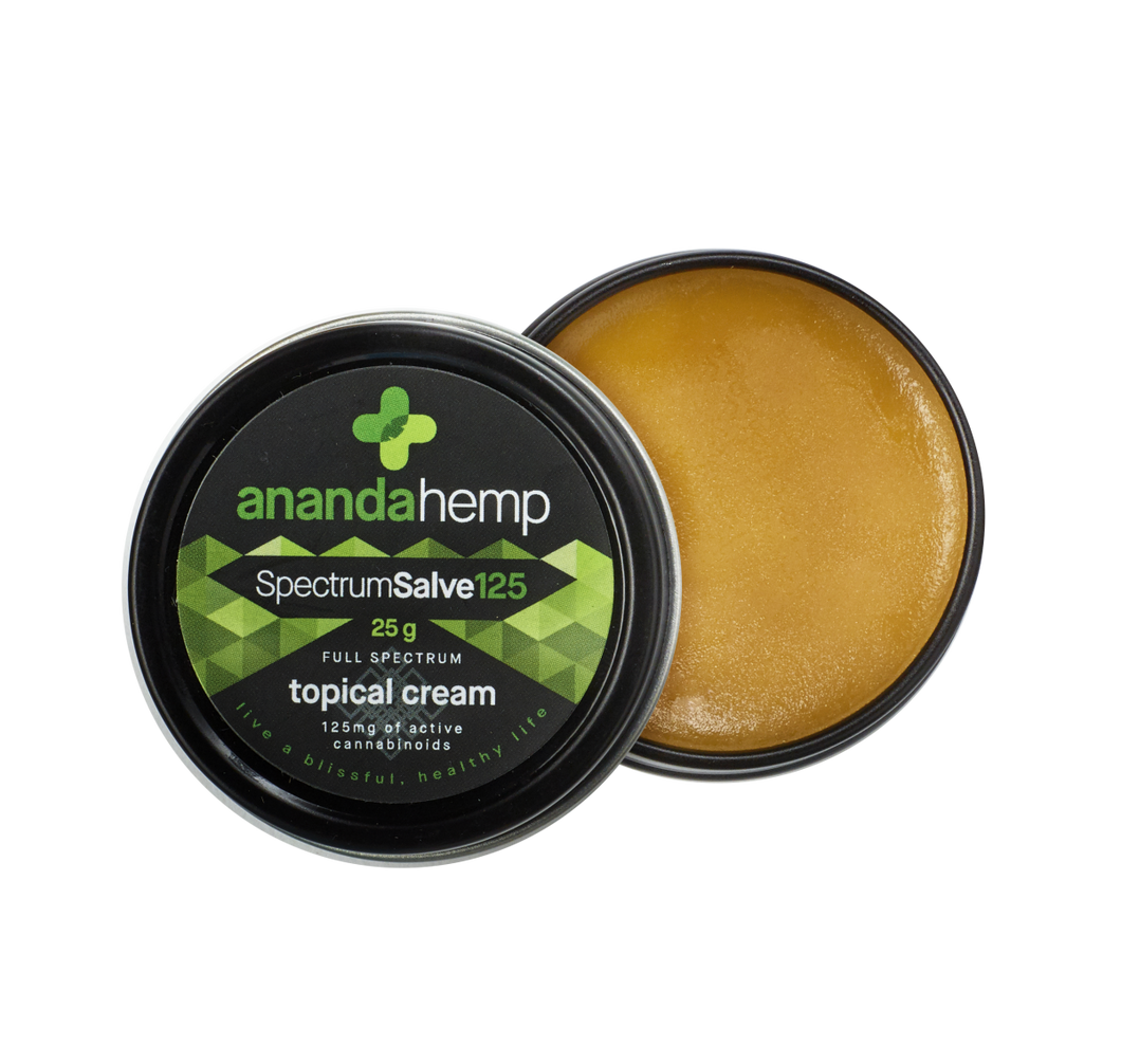Best Spectrum Salve 125 - Green Door CBD