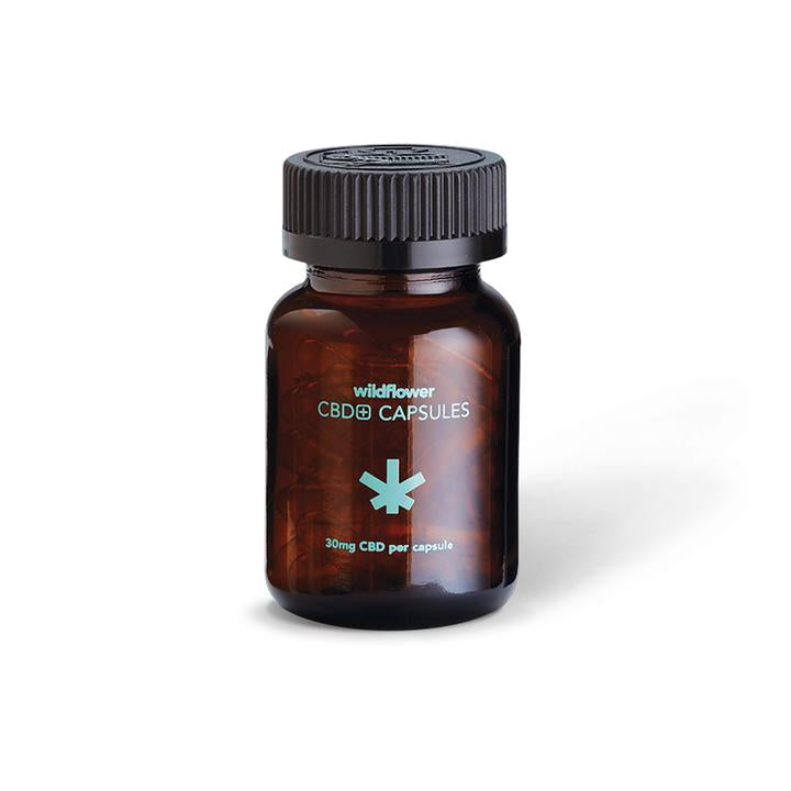 Best Wildflower CBD+ CAPSULES - Green Door CBD