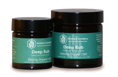 Best Deep Rub - Green Door CBD