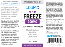 Load image into Gallery viewer, Best CBD Freeze Stick - Green Door CBD