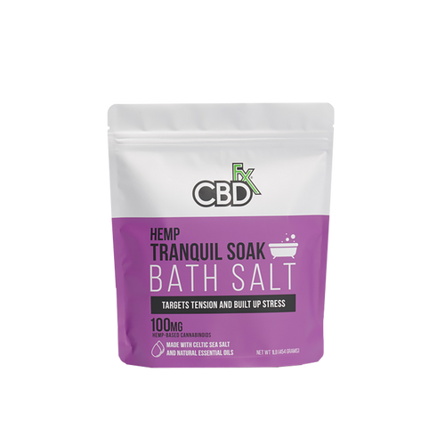 Best CBDfx Bath Salts - Green Door CBD