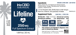 Best Lifeline CBD Oil Tincture - Green Door CBD