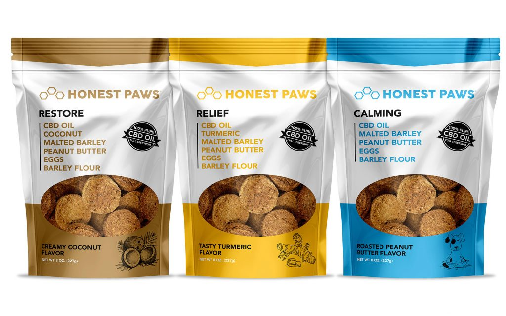 Best Honest Paws CBD Dog Treats - Green Door CBD