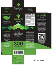 Load image into Gallery viewer, Best Spectrum Tinctures - Green Door CBD