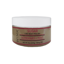 Load image into Gallery viewer, Best CBD Sugar Scrub - Green Door CBD