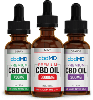 Best cbdMD Oil Tinctures - Green Door CBD