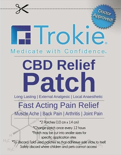 Best CBD Relief Patch - Green Door CBD