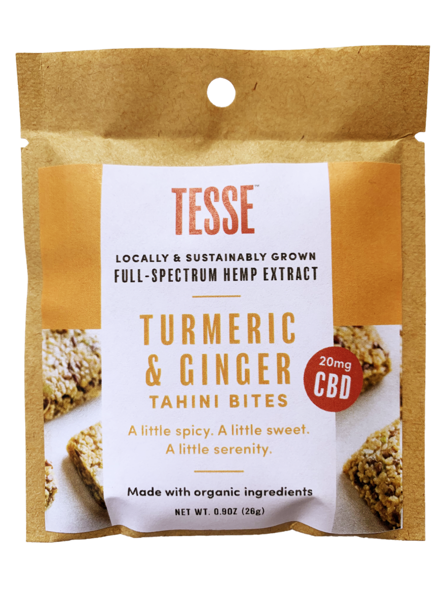 Best Turmeric & Ginger Tahini Bites - Green Door CBD