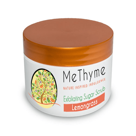 EXFOLIATING SUGAR SCRUB 2OZ. - Me Thyme Natural Bath & Body Products
