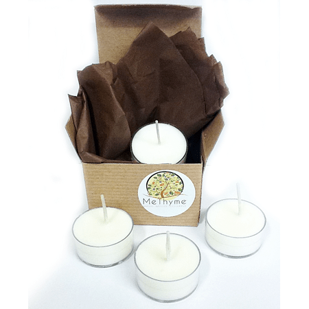 SOY TEA LIGHT PACKAGE - Me Thyme Natural Bath & Body Products