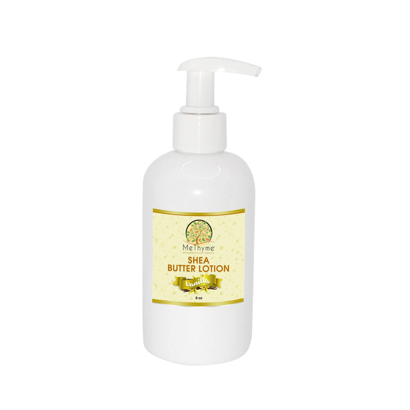 SHEA BUTTER LOTION 8OZ.