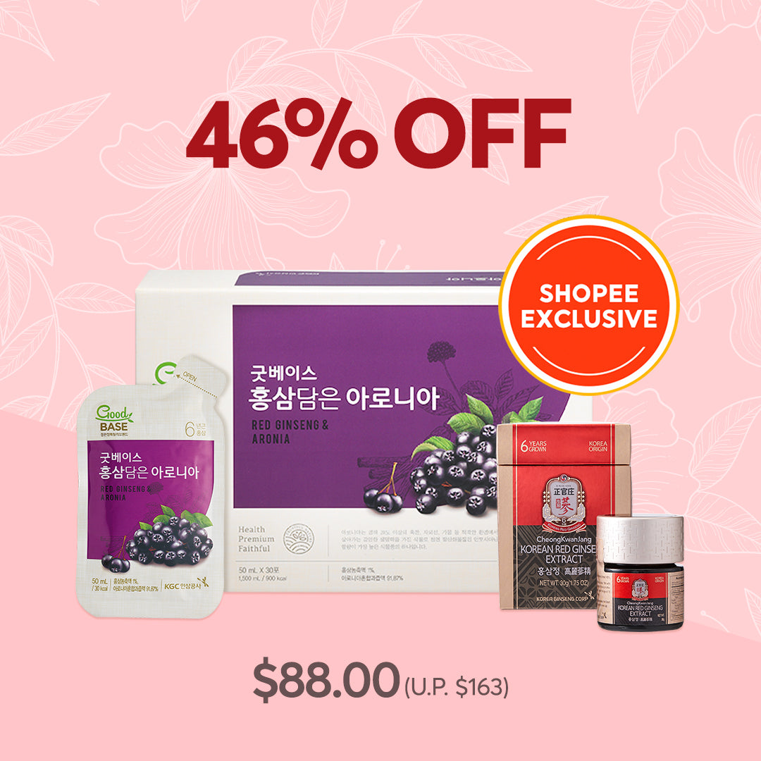 CKJ Shopee | Good Base Korean Red Ginseng with Aronia & CKJ Extract 30g