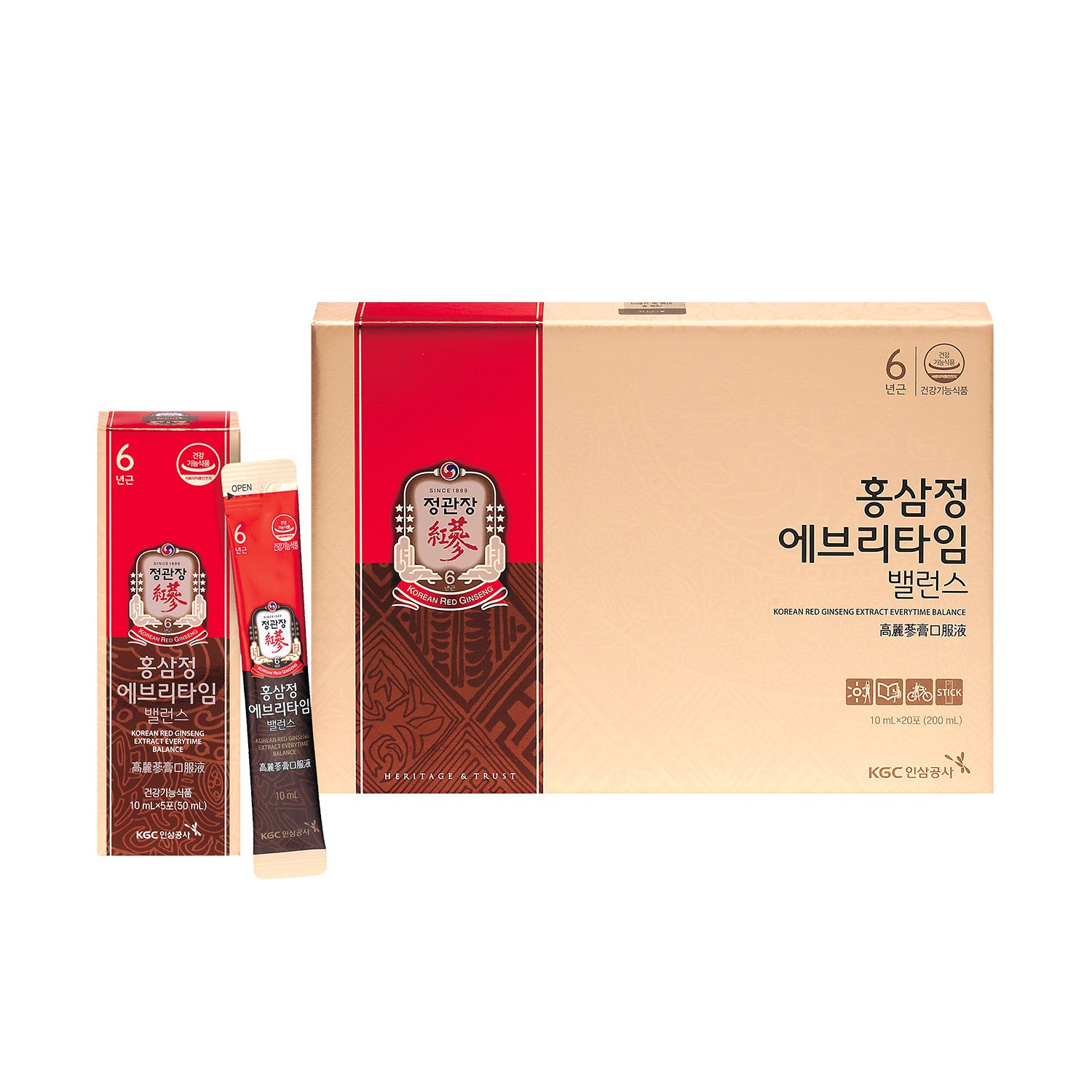 CKJ Korean Red Ginseng Extract Everytime Balance 20s [Bulk purchase of 8 boxes]