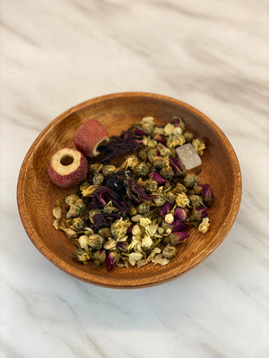 Eight Treasure Flower Tea (八宝花茶)