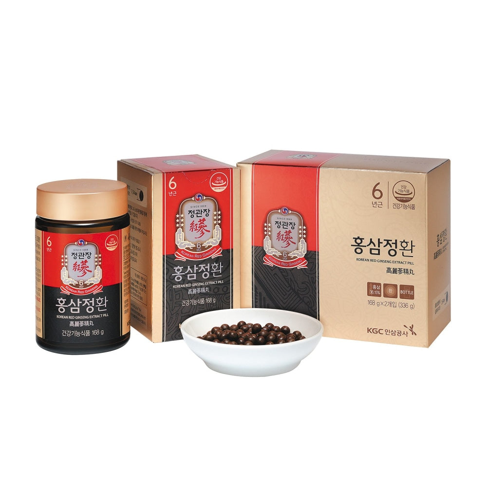 Ckj Korean Red Ginseng Extract Pill Cheong Kwan Jang